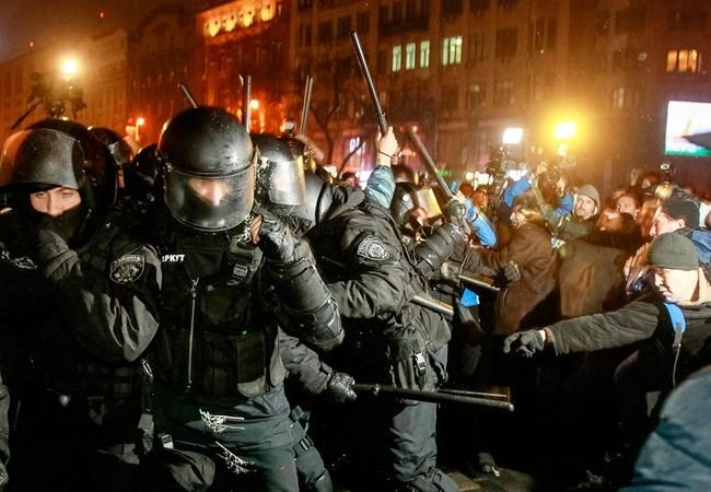Украинский кризис - Евромайдан