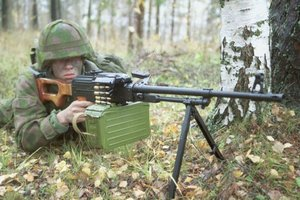 Стрельба из пулемета ПКМ