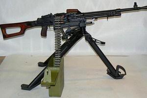 ПКМС пулемет калашиникова, стрельба длинными очередями