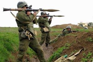 Стрельба из ПКМ и РПГ7