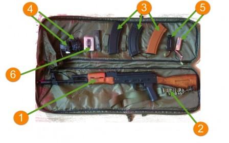 АК-74-страйкбол-комплект 1