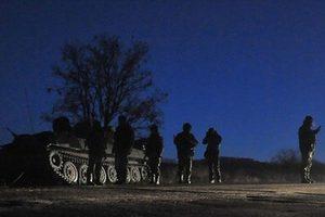 Оборона подразделения ночью
