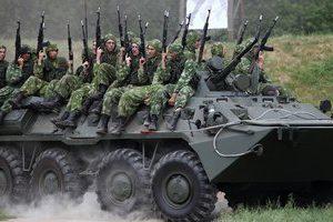 Размещение личного состава в боевой машине БМП и БТР
