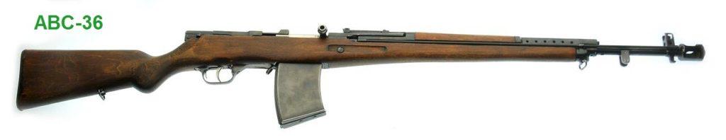 Автоматическая винтовка Симонова внешний вид