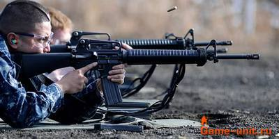 американская винтовка М16