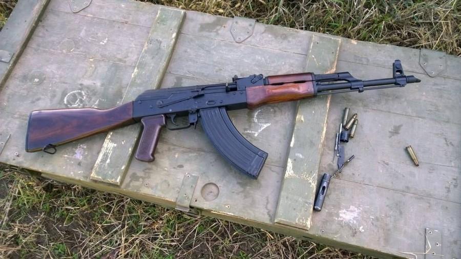 АК Калашникова охолощённоеоружие