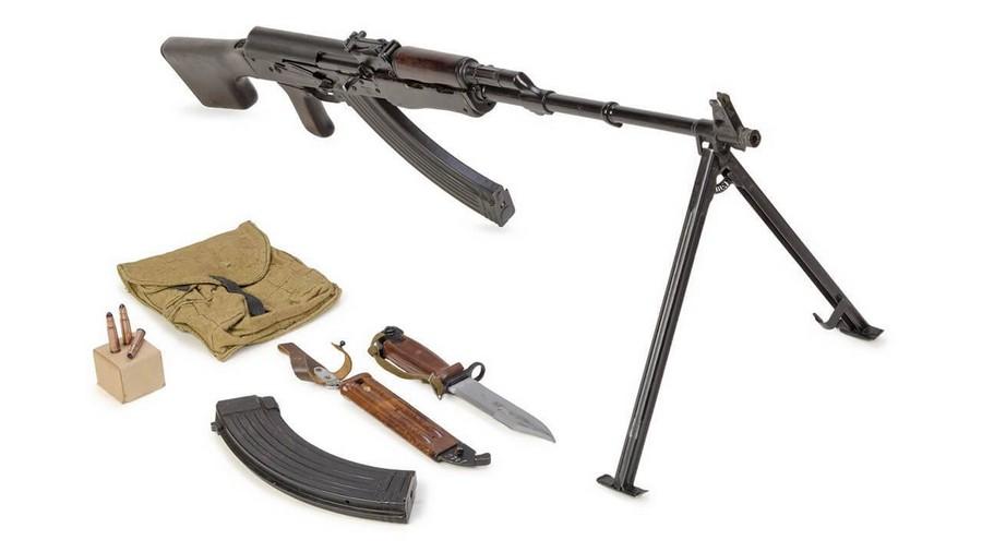 ручной пулемет Калашникова охолощённоеоружие под схп